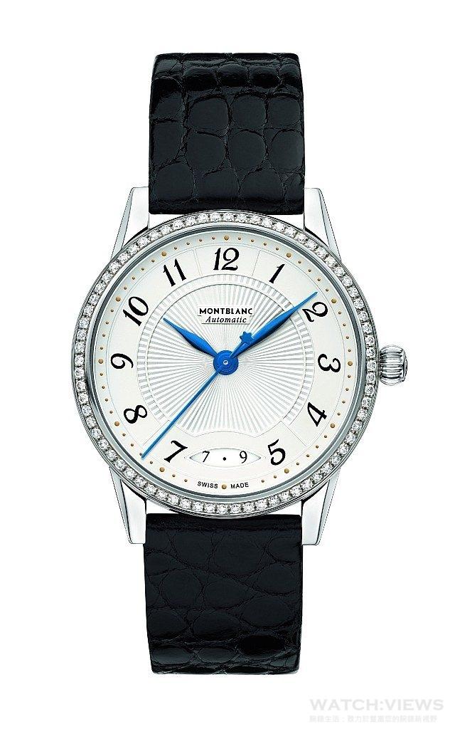 萬寶龍Bohème寶曦系列日期顯示自動腕錶,NT$145,000。