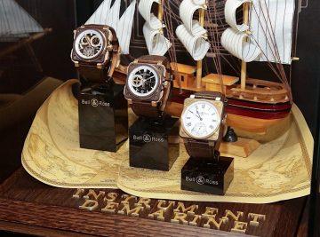 Bell & Ross革命海洋時計Marine Instrument系列新作抵台,寶鴻堂鐘表台中五權旗艦店展出