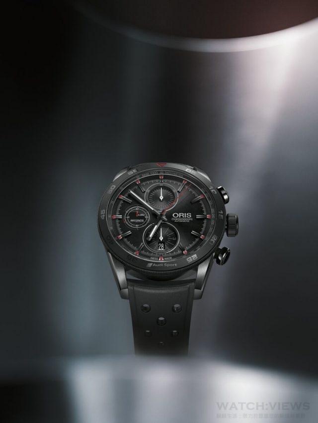 Oris Audi Sport III限量錶是與Audi Sport賽車隊合作推出的第三款腕錶。