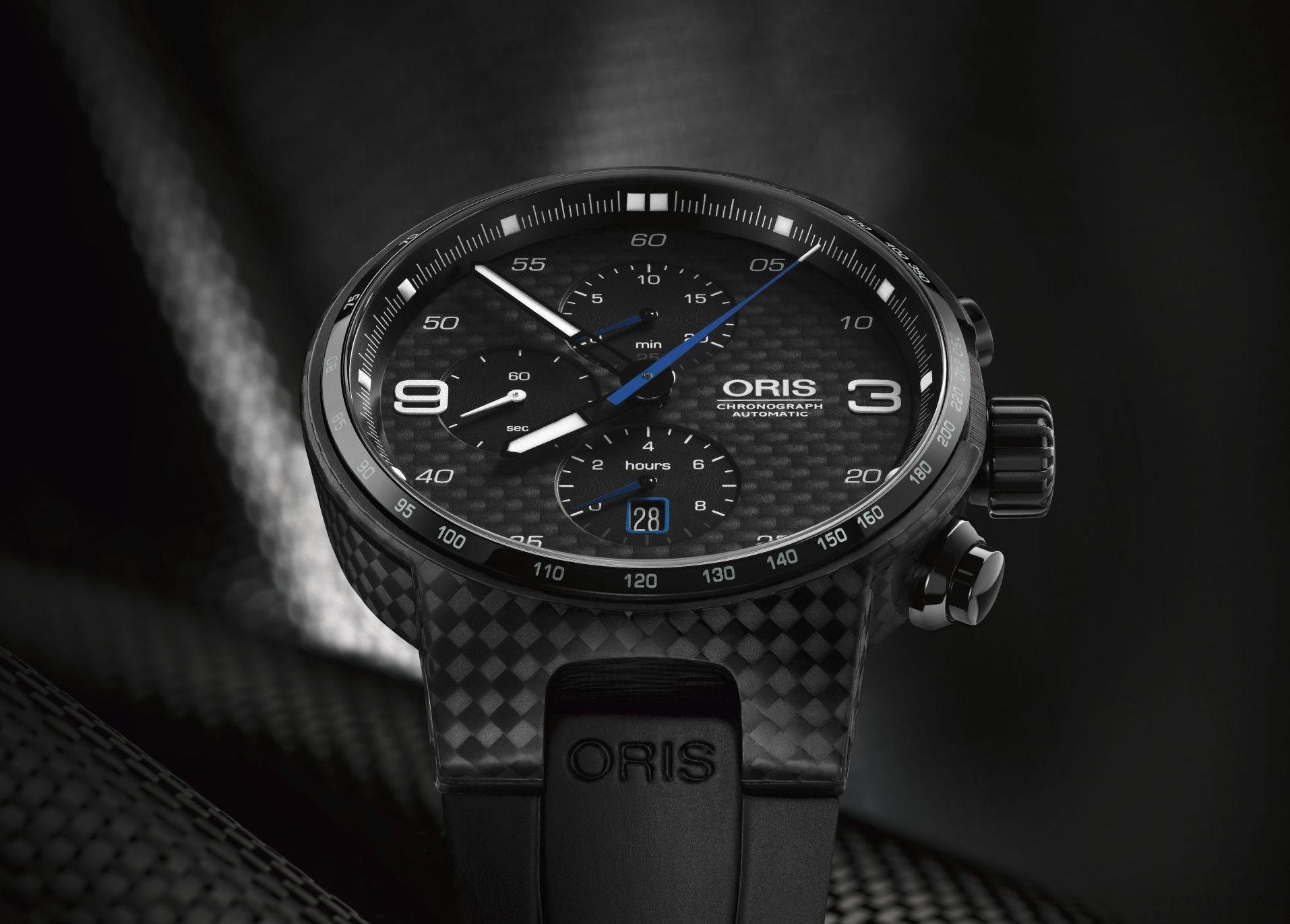 品味極速快感下的計時之作:Oris Sport賽車腕錶