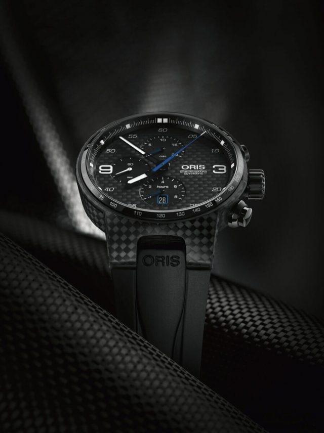 Oris Williams Valtteri Bottas 限量腕錶搭配黑色橡膠錶帶