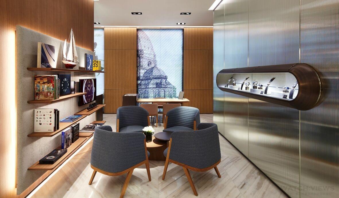 沛納海澳門第三間專門店揭幕,由名設計師Patricia Urquiola設計
