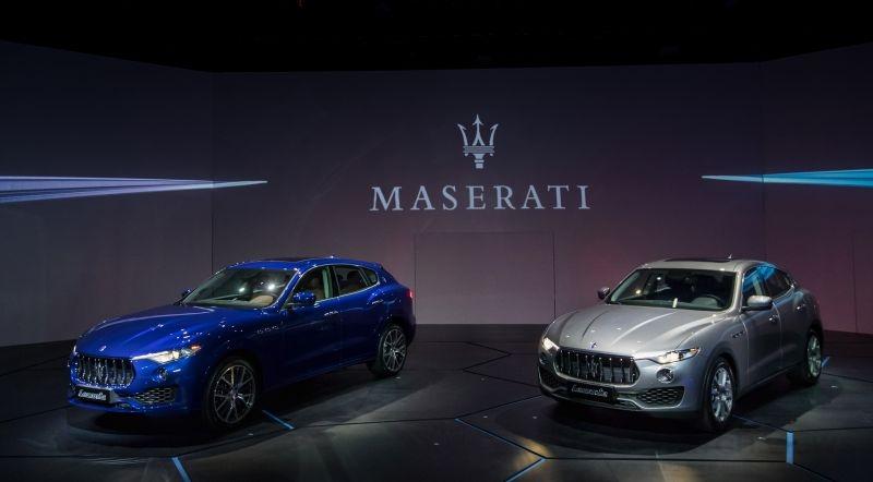 Maserati豪華休旅搶灘 Levante S出列