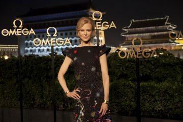 奧斯卡影后妮可基嫚現身北京,出席OMEGA向女性致敬晚宴