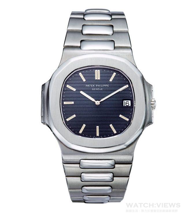1976年問世的Nautilus Ref.3700/1A,寬42、厚7.6毫米的顯目錶身,加上非圓非方、靈感取自八角型輪船舷窗的錶殼造型,耀眼的形狀打破一切的設計常規,令錶壇為之震撼。