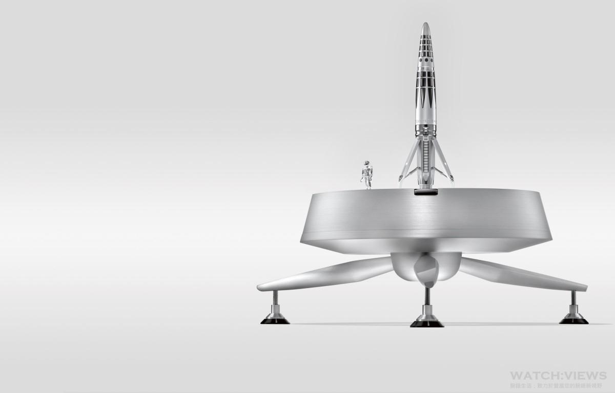 創意思旅:MB&F與Maison Caran d'Ache合作推出Astrograph限量版鋼筆與鋼珠筆