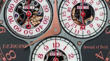 F.P.Journe慶祝香港專門店10周年,推出Centigraphe Souverain Anniversaire限量版腕錶