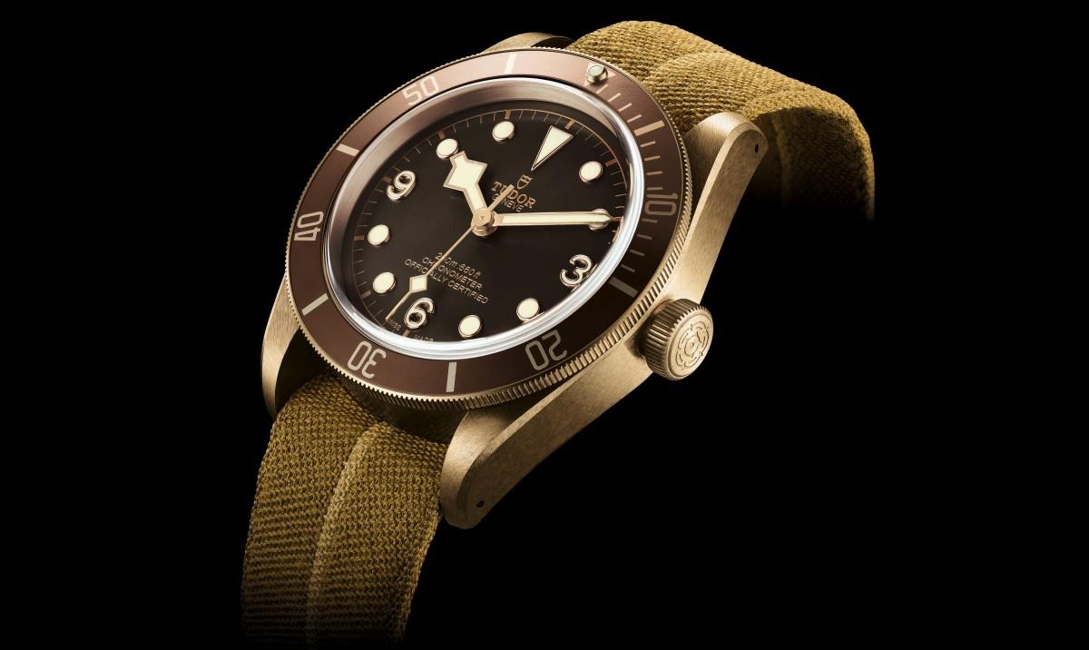 帝舵Heritage Black Bay Bronze青銅腕錶