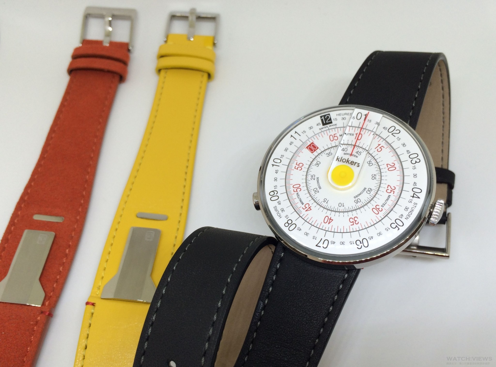 懷念舊時光:klokers創新腕錶