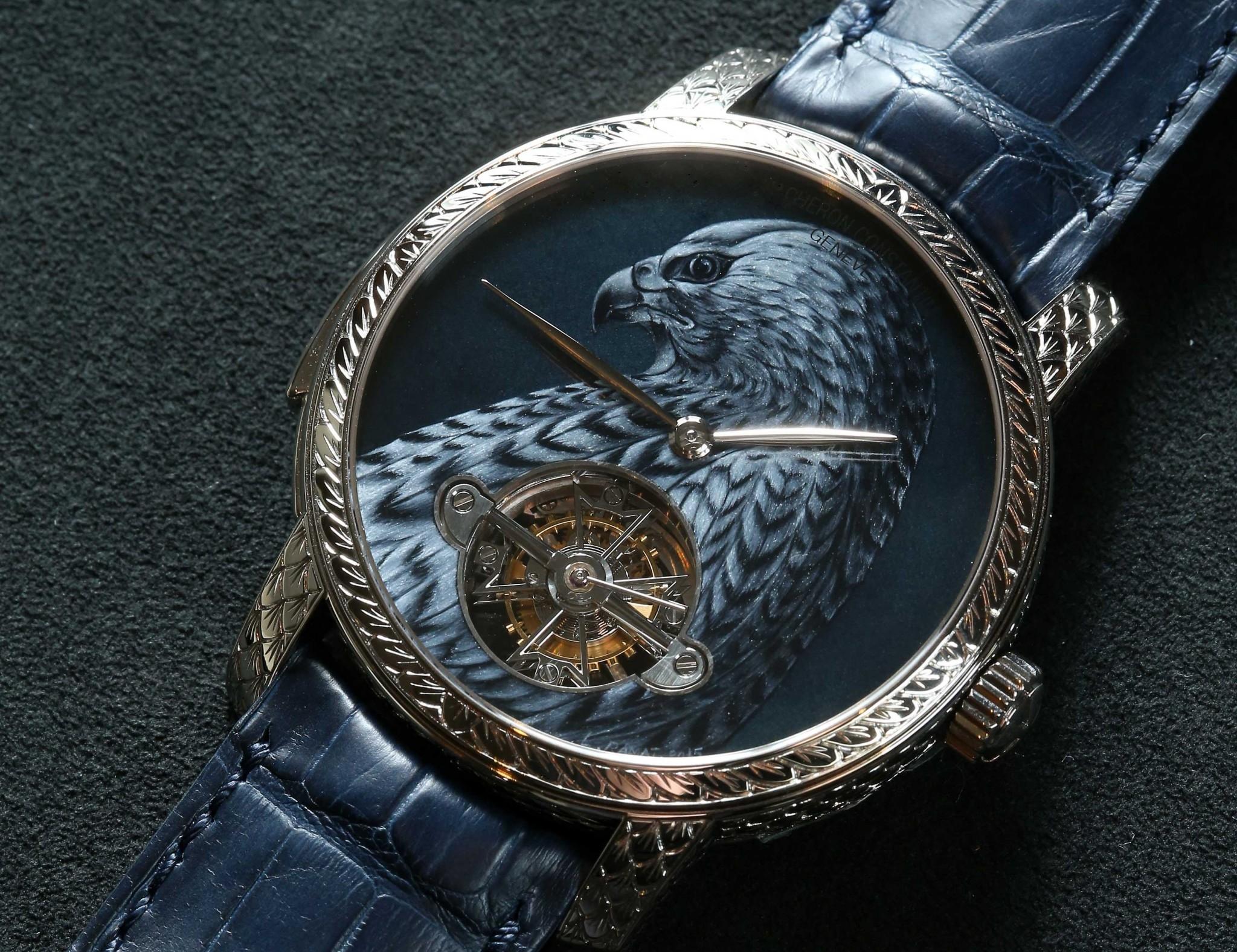 獵鷹的凝視:江詩丹頓Maître Cabinotier閣樓工匠大師系列「Falcon」