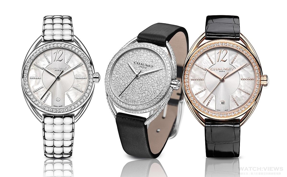 完美散發巴黎文藝氣質:簡約、優雅而時尚的Chaumet全新Liens Lumière光影系列仕女腕錶