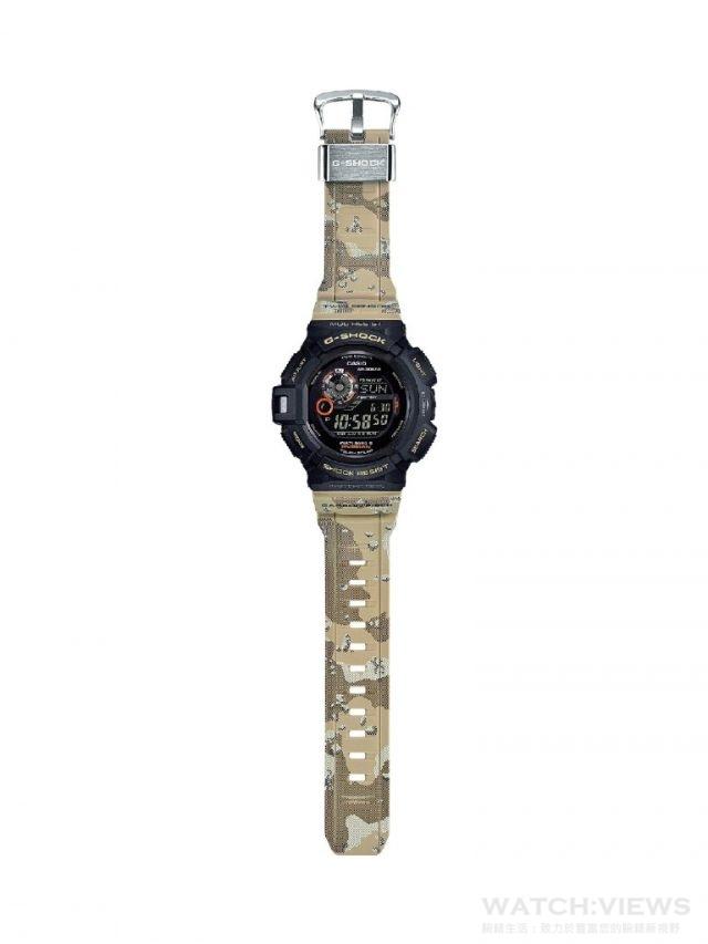 G-SHOCK MASTER OF G 推出全新系列,以沙漠迷彩及橄欖綠的全新配色,搭配耐衝擊構造、三大感應器、GPS電波接收系統、太陽能電力系統、防塵抗泥結構等多項獨特功能,打造出滿足各種極限環境使用需求的機能錶款,讓探險家一展強悍本質,徹底展現剽悍魅力。