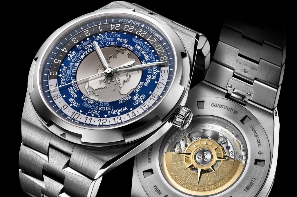 江詩丹頓Overseas World Time世界時間腕錶呈現獨特世界觀