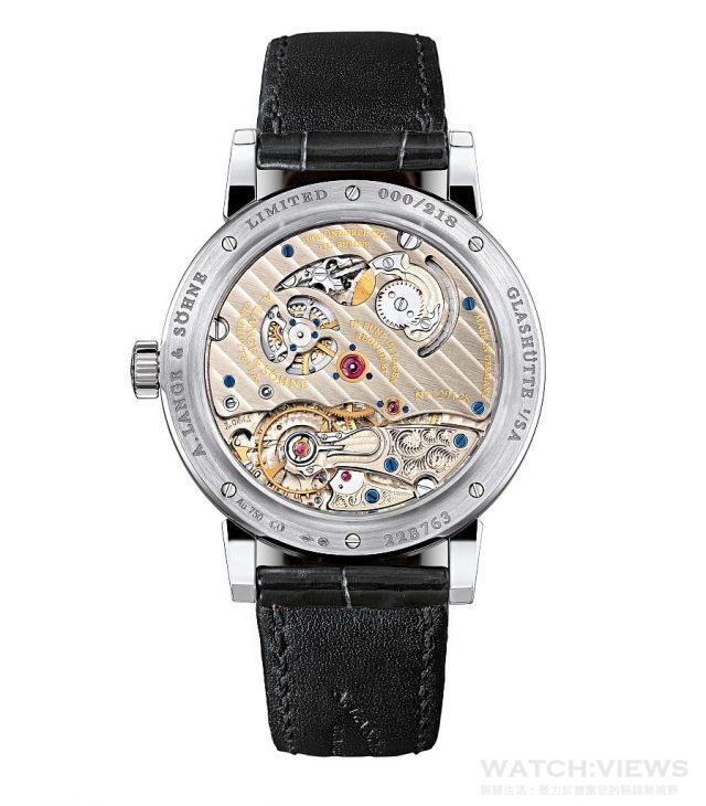 """Richard Lange """"Pour le Mérite""""   腕錶搭載朗格錶廠自製L044.1型手上鍊機芯。"""