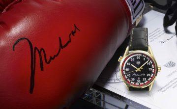 """向穆罕默德.阿里致敬:TAG Heuer以慈善活動紀念傳奇拳王並推出Carrera Calibre 5 """"RING MASTER""""阿里紀念錶款"""