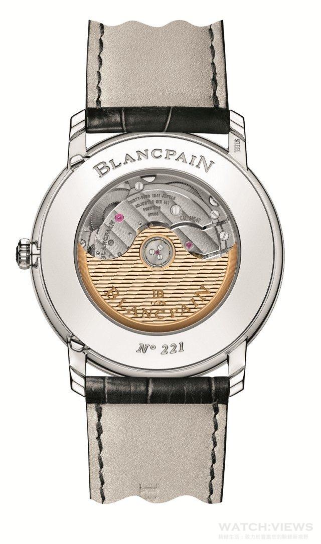 寶鉑兩地時區年曆腕錶所搭載的Cal.6054F自動上鏈機芯