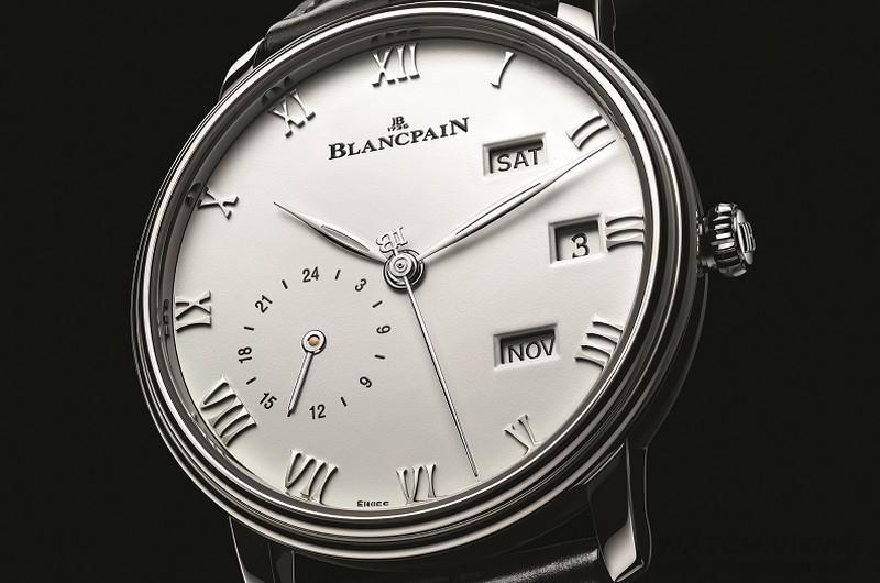 為你舉世無雙、為你逆轉時光:BLANCPAIN Villeret系列兩地時區年曆腕錶