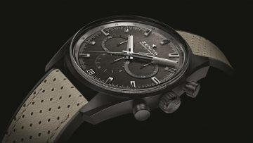 Zenith推出El Primero Range Rover特別版腕錶,向合作夥伴致敬