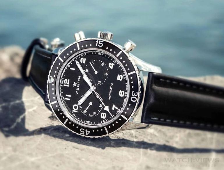 ZENITH經典軍用飛行腕錶CP-2復刻款 即將上市