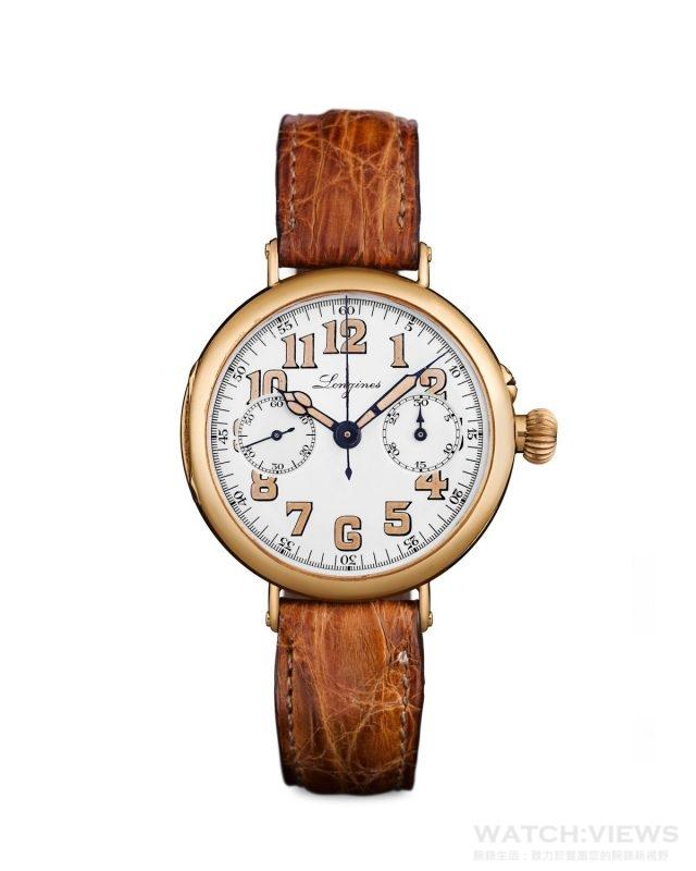 浪琴表復刻系列1918 腕錶_原型錶款