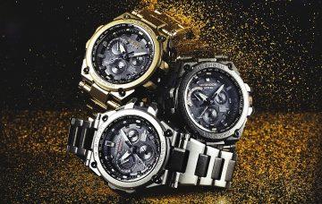 來自外太空的隕石磨砂質感:G-SHOCK MT-G全新系列上市,水藍限定款全台限量三支