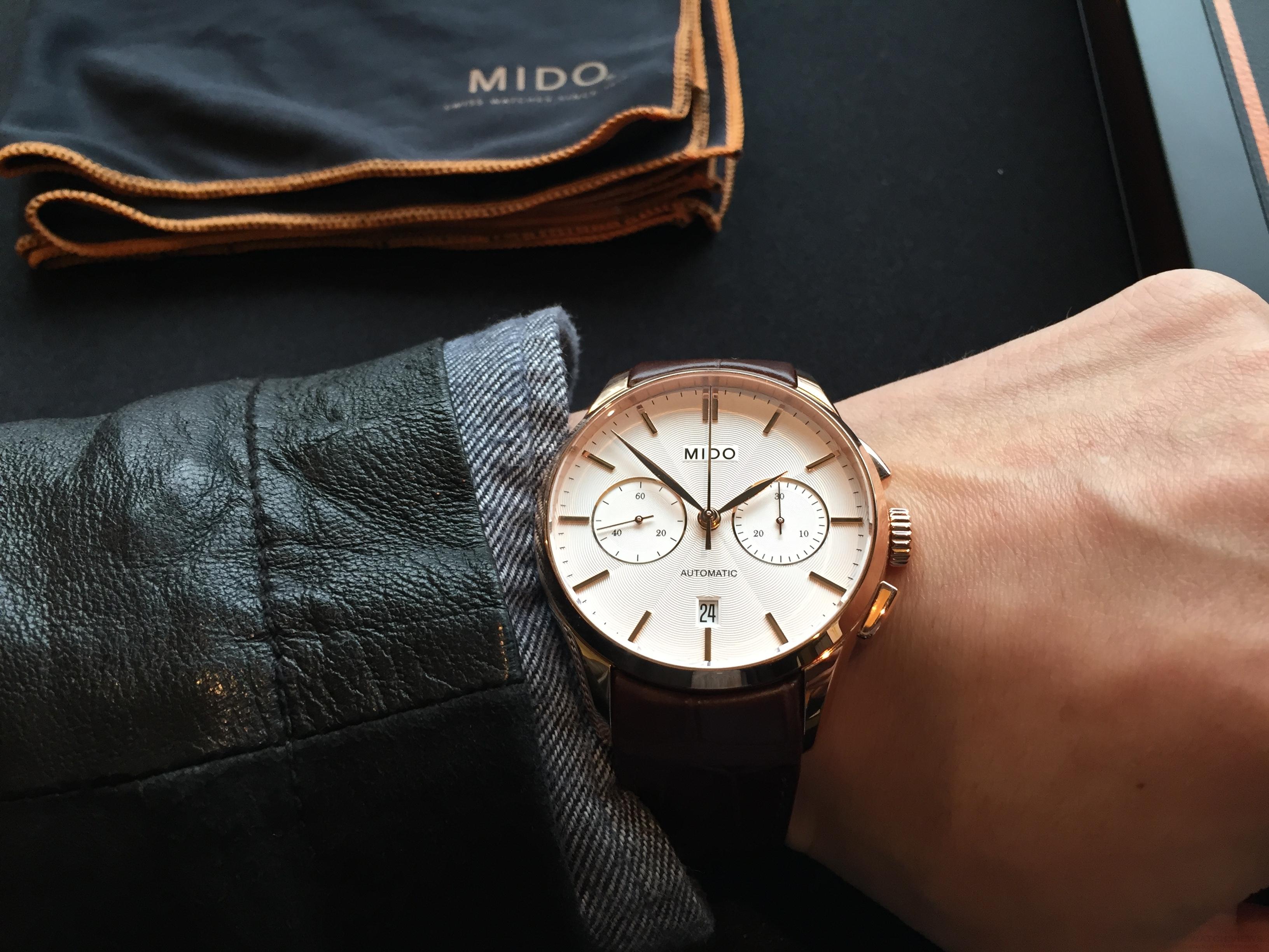 優雅時計詮釋經典建築:Mido Belluna II雋永系列男女仕腕錶