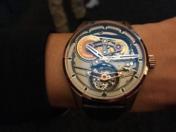 高速轉動下的複雜機械工藝:Zenith Academy Tourbillon Georges Favre-Jacot芝麻鍊陀飛輪腕錶