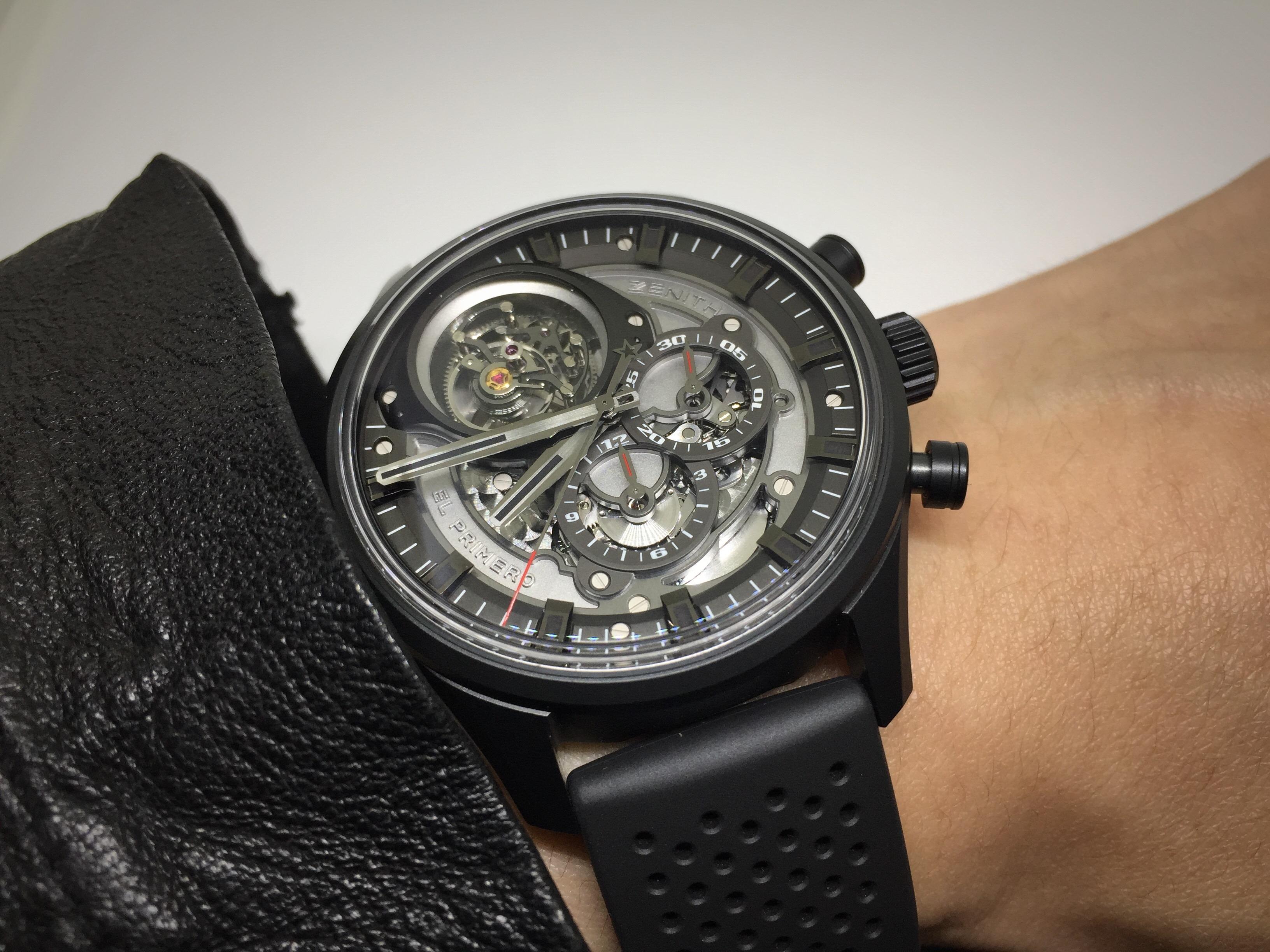 高振頻陀飛輪再添新作:Zenith El Primero鏤空陀飛輪計時腕錶