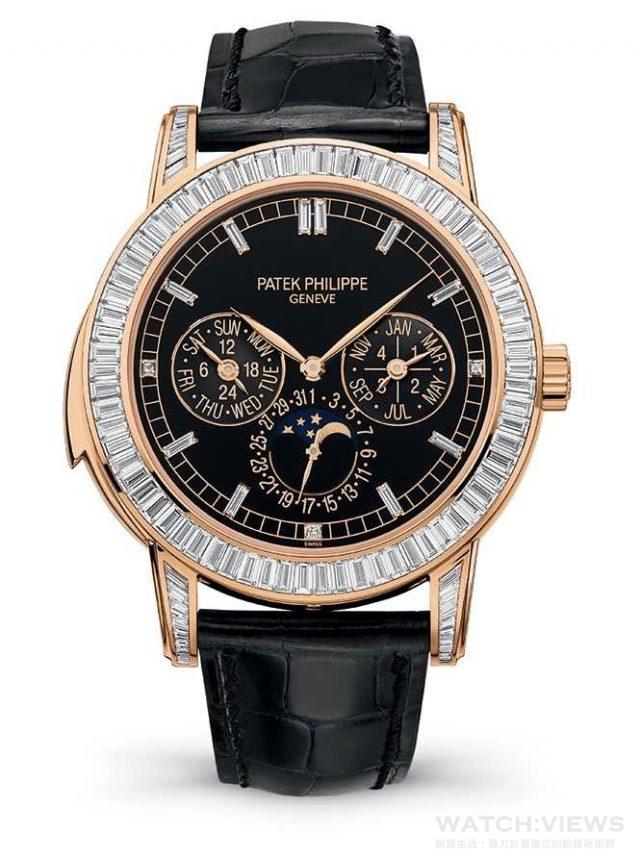 百達翡麗編號 5073R-001 三問報時與萬年曆功能腕錶