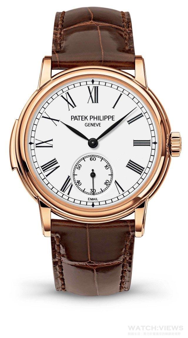 百達翡麗型號 5078R-001 腕錶