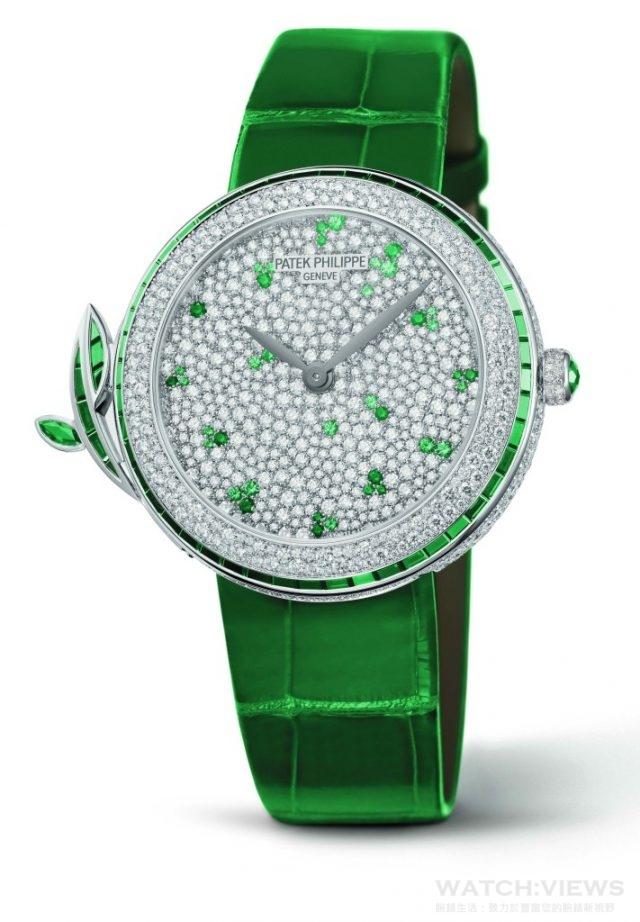 百達翡麗型號7002450G-010 Spring Symphony 春之交響曲腕錶