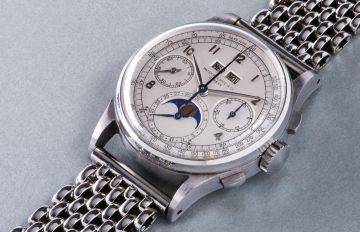 聖杯的代價:極稀有不鏽鋼版本百達翡麗萬年曆計時碼錶Ref. 1518,拍出11,002,000瑞士法郎天價(約台幣三億五千萬),刷新世上最貴腕錶紀錄