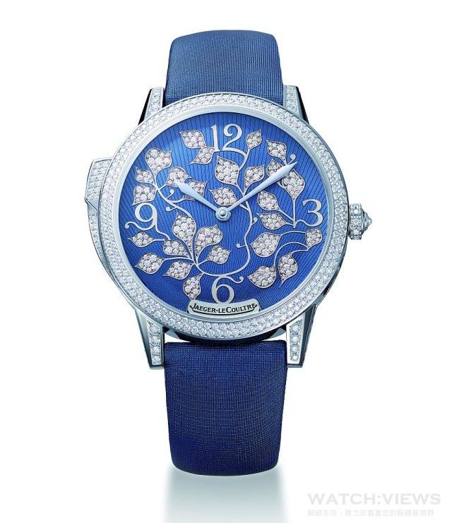 積家Rendez-Vous Ivy Minute Repeater 約會系列常春藤三問腕錶型號Q35034E1,建議售價NT$8,100,000。