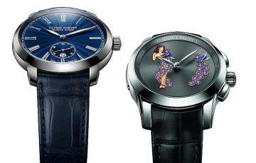 【2017 PRE-SIHH報導】Ulysse Nardin雅典錶推出Classico Manufacture Grand Feu獨創鎏金大明火小秒針腕錶與Hourstriker Pin-Up舞孃單問報時限量錶