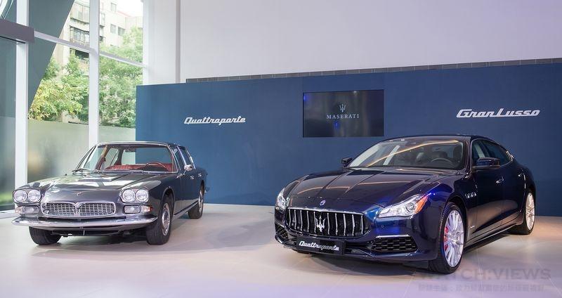 瑪莎拉蒂Quattroporte小改款 豪華升級搶客