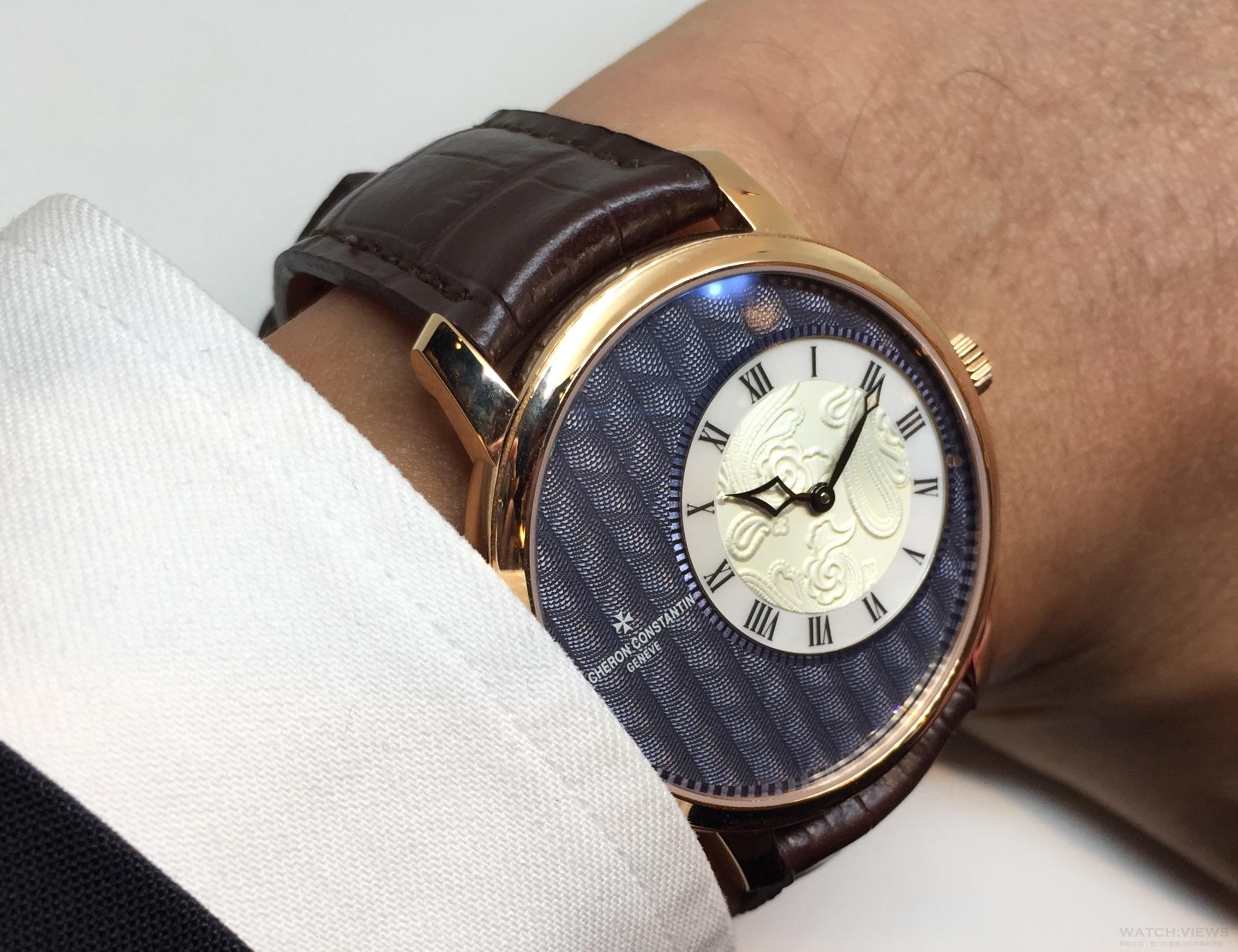 藏在袖口的藝術:江詩丹頓Métiers d'Art Elégance Sartoriale腕錶