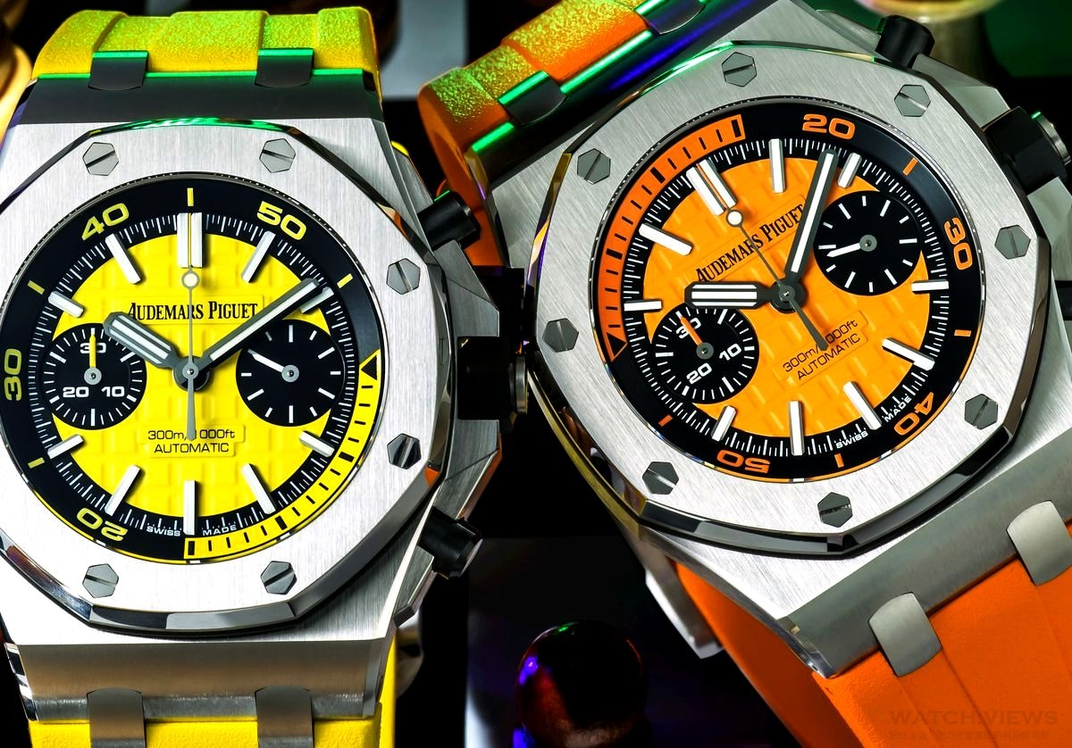 色藝兼備:AUDEMARS PIGUET Royal Oak Offshore Diver Chronograph
