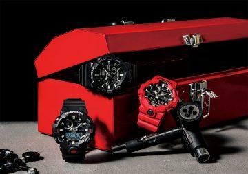 外觀與功能兼具,大展強悍韌性本色:G-SHOCK GA-700全新系列展現無堅不摧設計概念