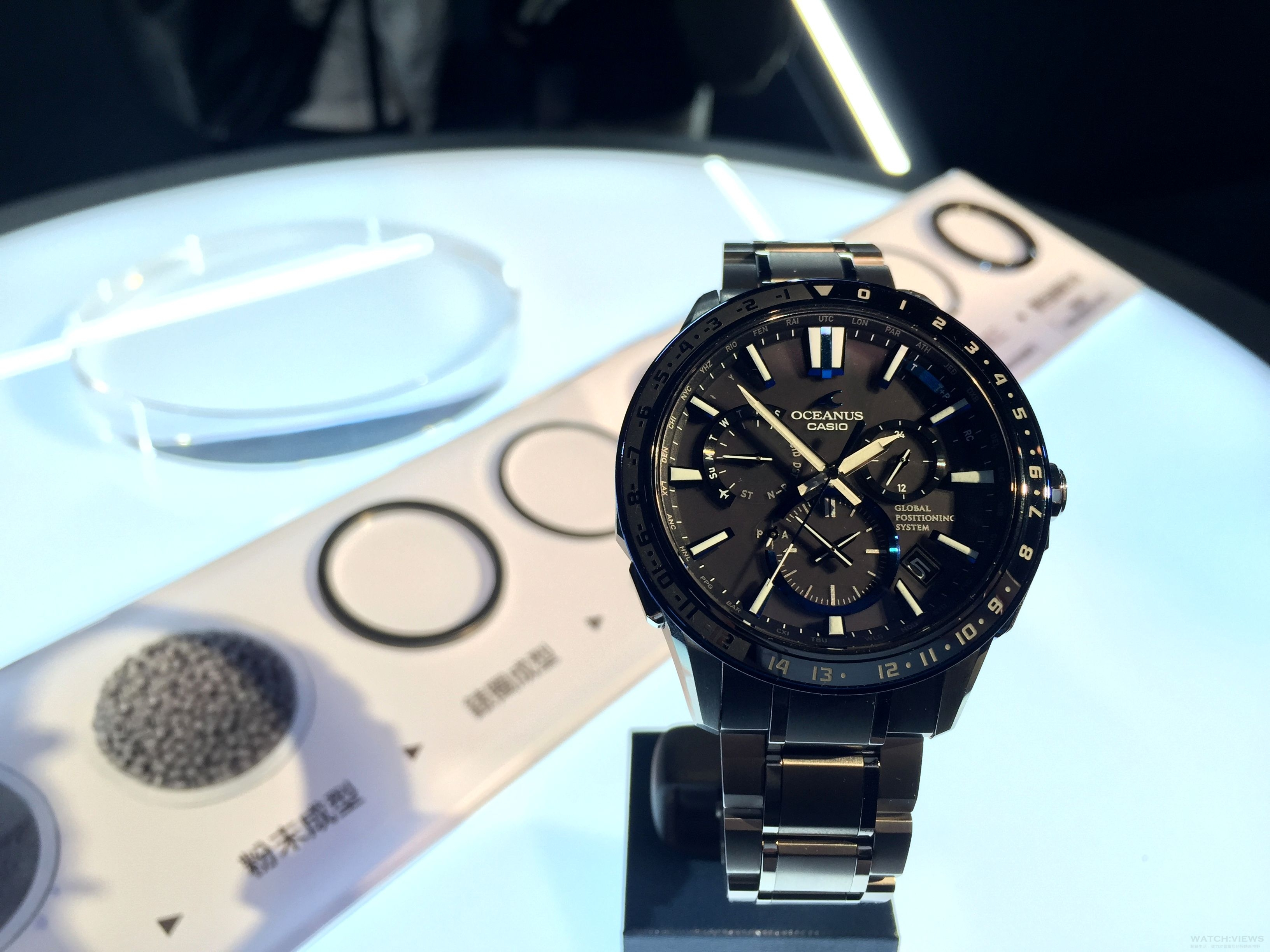 日本傳統技藝「紋紗塗」概念下的先進時計:Casio全新Oceanus OCW-G1200腕錶
