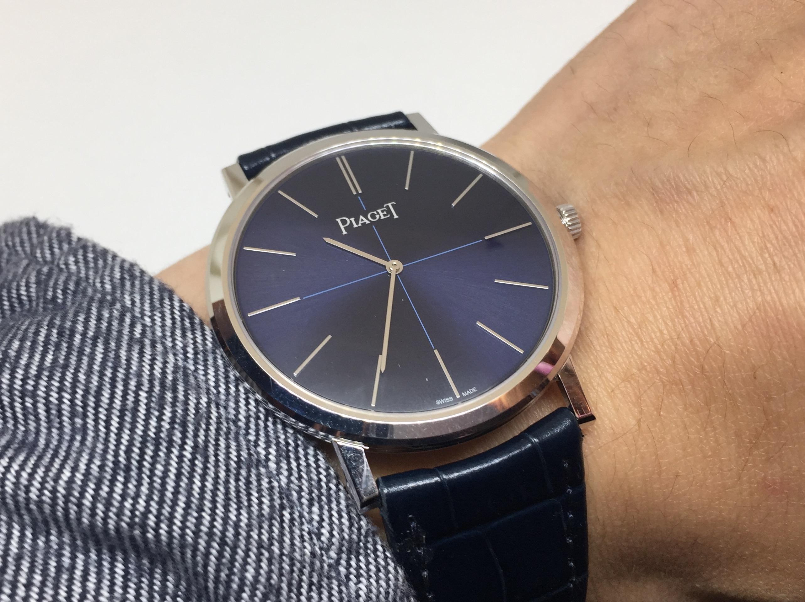 【2017 Pre-SIHH報導】伯爵全新Altiplano腕錶搶先上手!