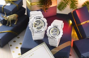 2016 LOVER'S COLLECTION:G-SHOCK & BABY-G天使與惡魔聖誕套組對錶復刻推出20週年帆布紀念套組