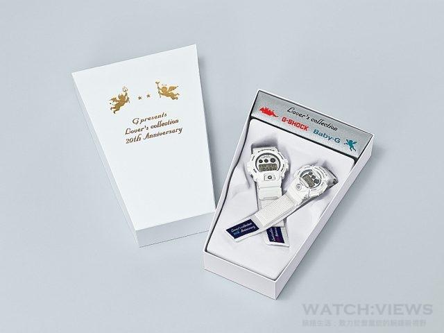 LOV-16C-7復刻1996 年第一款聖誕特別版的特殊錶盒包裝,且錶帶使用復古帆布材質及魔鬼沾固定設計,完美復刻20年前套裝版本。