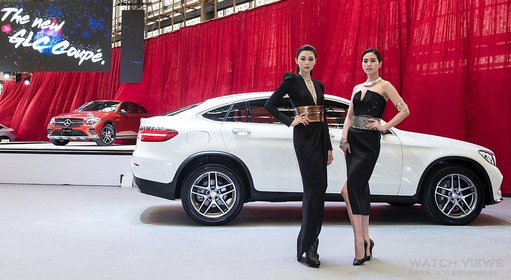 淬煉自烈焰與寒冰:Mercedes-Benz全新GLC Coupé磅礡登場