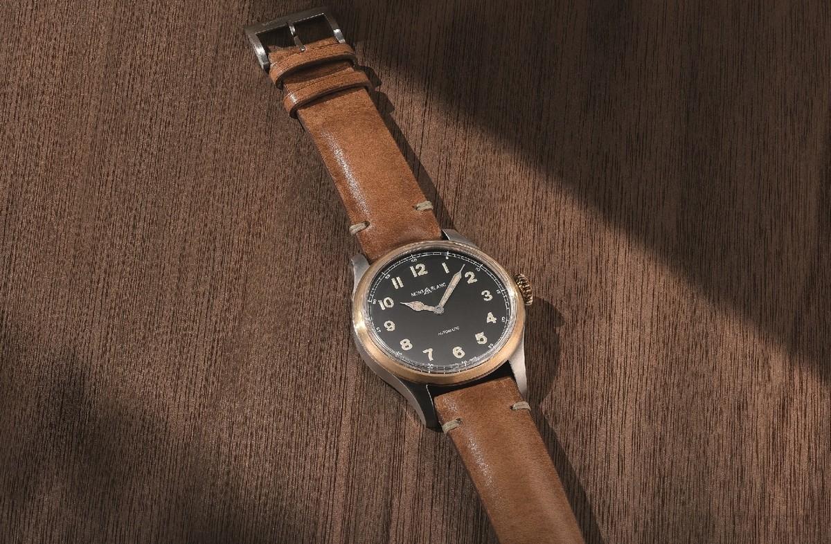 【2017 Pre-SIHH報導】復古腕錶展現頂級工藝:萬寶龍1858系列青銅腕錶