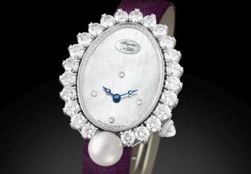 以精湛鐘錶及珠寶功力向尊貴皇后敬意:寶璣高級珠寶腕錶