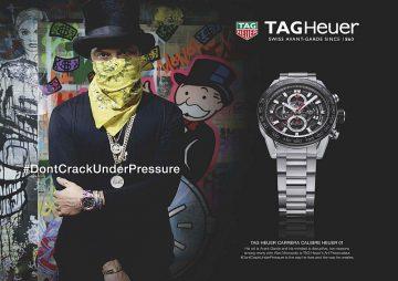全面開啟行銷廣宣藝術新紀元,美國火紅藝術家Alec Monopoly受邀擔任TAG Heuer藝術狂想家