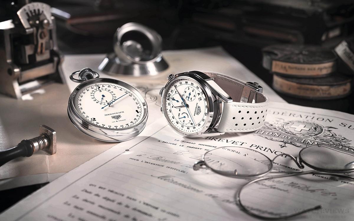 TAG Heuer發表Carrera Mikrograph 1916-2016百週年紀念版限量腕錶