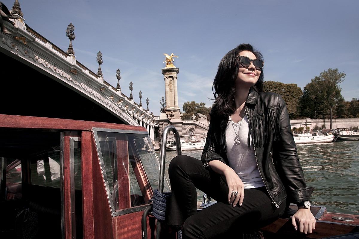 Chaumet女神鍾楚紅遠赴巴黎,尋找約瑟芬皇后的往日足跡