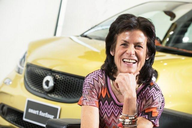 甫於去年中上市的新一代smart於全球銷售成績亮眼,2010年起接任smart品牌總裁Dr. Annette Winkler功不可沒。