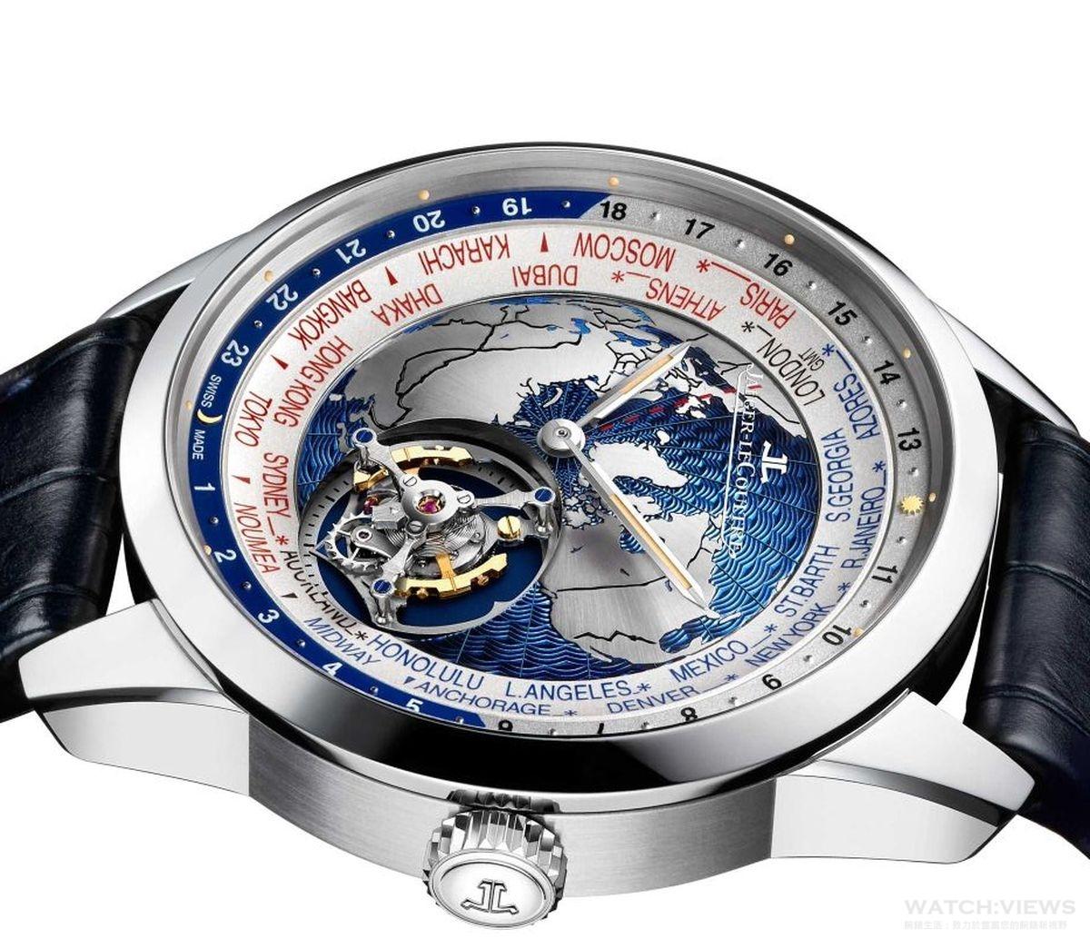 【2017 Pre-SIHH報導】積家Jaeger-LeCoultre Geophysic Tourbillon Universal Time